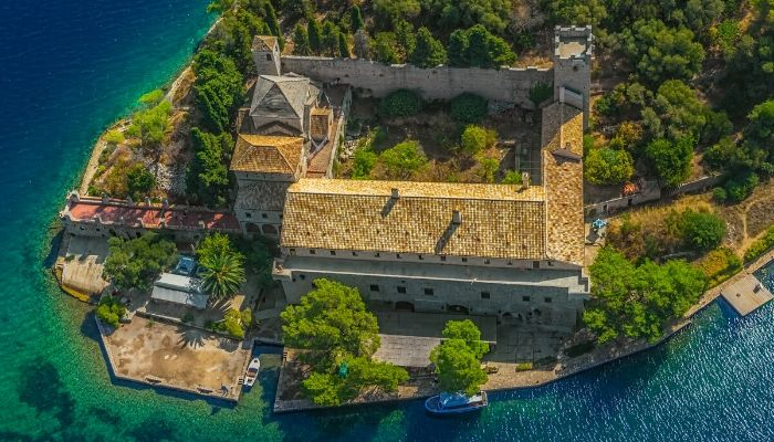 Saint Mary Monastery - Mljet National Park, Croatia
