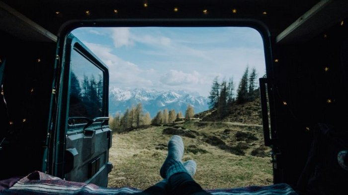 Save Money on Camping - Traveling Europe by Campervan