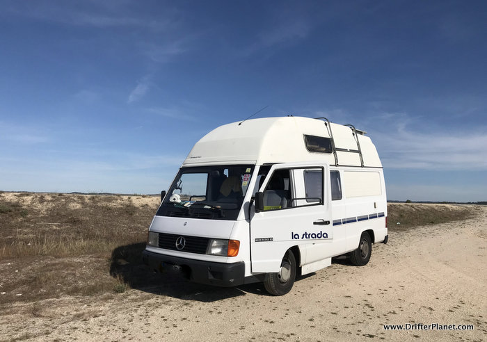 Somewhere in Portugal - Van Life Europe tips