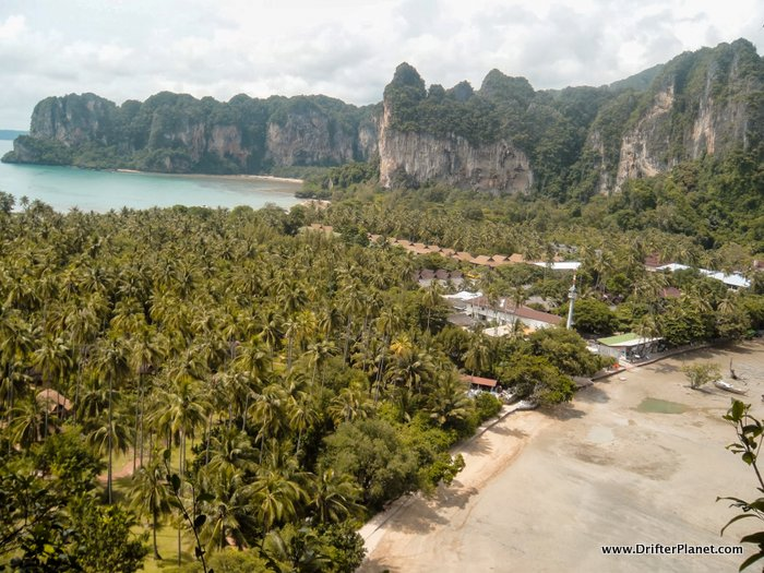 View from Railay Viewpoint - Railay West and Railay East