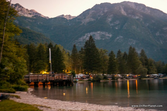 After Sunset at Lake Bohinj, Slovenia