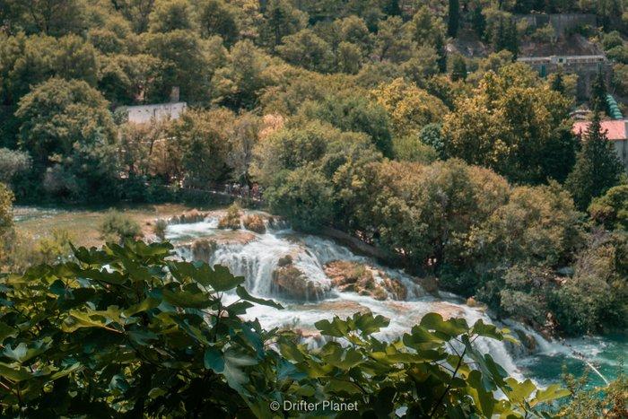 Cascades in Krka National Park, Croatia