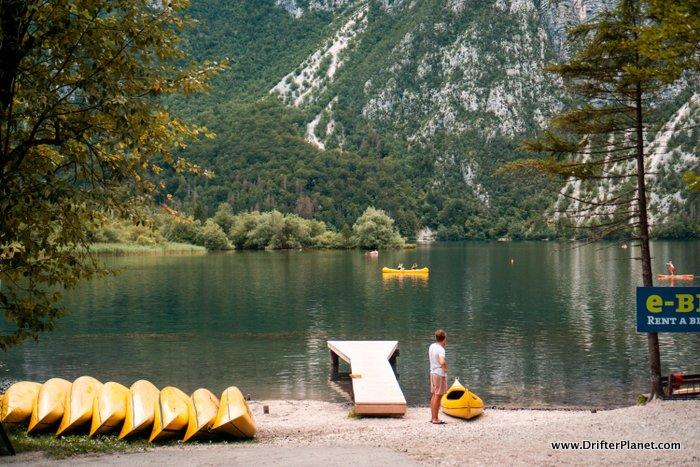 Kayak rental - Camp Zlatorog Bohinj - Lake Bohinj, Slovenia
