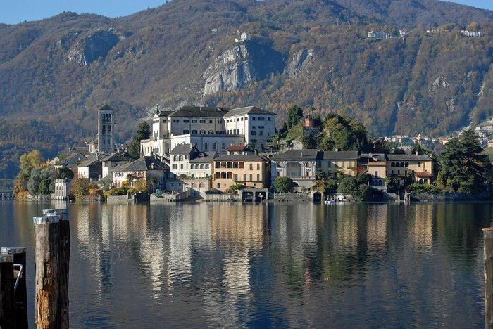 Lake Orta, Italy by train