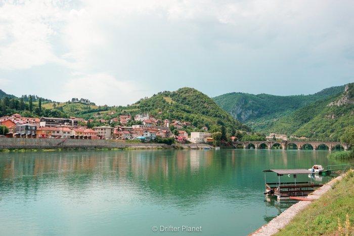 Lovely Višegrad with the Bridge on the Drina, Bosnia & Herzegovina
