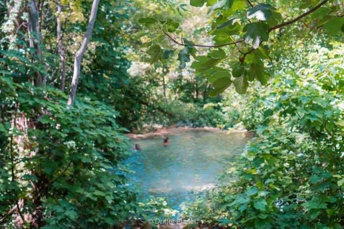 Our secret swimming spot in Krka National Park, Croatia