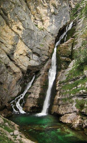 Savica Waterfall, Triglav National Park, Slovenia