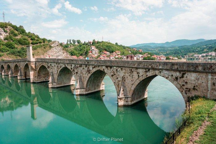 The Bridge on the Drina - Mehmed Paša Sokolović Bridge in Visegrad, Bosnia & Herzegovina