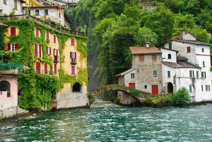 The lovely Lake Como in Italy