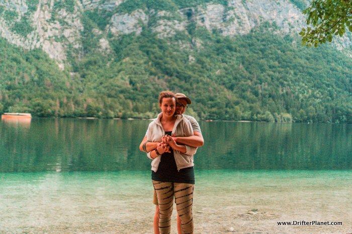 The romantic Lake Bohinj, Triglav National Park, Slovenia