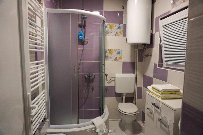 Toilet in Harmony Apartments, Visegrad, Bosnia & Herzegovina
