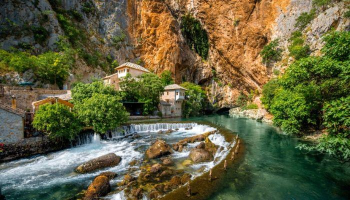 Blagaj on Buna Spring in Bosnia & Herzegovina - Road trip itinerary