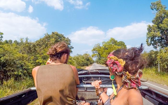 Jeep Safari inside Kaudulla National Park, Sri Lanka