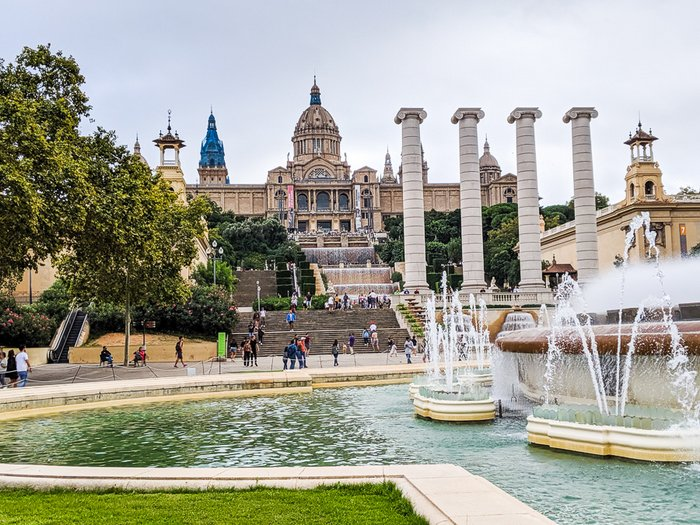 Montjuic Magic Fountains, Barcelona, Spain