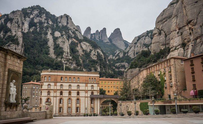 Montserrat Monastry and mountains - Day trip from Barcelona