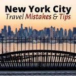 New York Travel Tips: 10 Travel Mistakes to Avoid in New York City