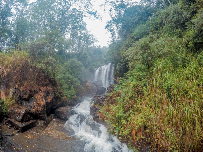 Lovers Leap falls - places to visit in Nuwara Eliya