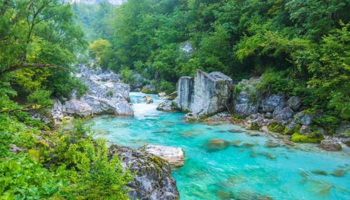 Soča Trail, Triglav National Park, Slovenia