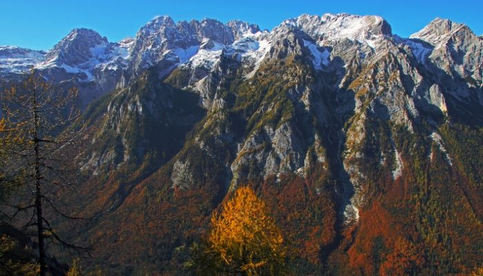 The Mountains above Vrata Valley, Slovenia
