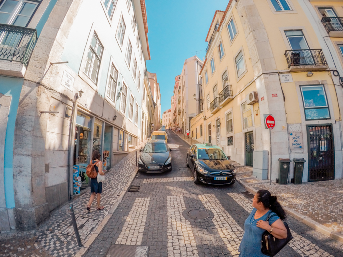 Can't get enough of Lisbon's streets