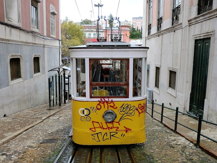 Lisbon's Tram 28 - 2 days in Lisbon itinerary