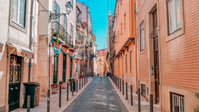 Lisbon's beautiful streets