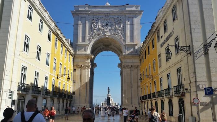 praça do comércio - Lisbon itinerary