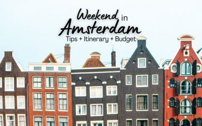 Weekend in Amsterdam: the only Amsterdam Weekend Guide You'll Ever Need